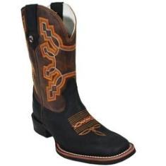 Imagem de Bota Country Masculina  Bico Quadrado Texas Boots