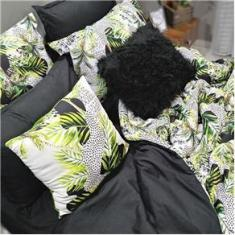Imagem de Jogo De Cama Casal King Size 8 Peças Com Almofada Plume