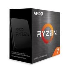 Processador AMD Ryzen 7 5800X 3.8GHz (4.7GHz Max Turbo) 32MB Cache AM4 Sem Vídeo Sem Cooler