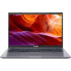 """Notebook Asus X509JA-BR423T Intel Core i5 1035G1 15,6"""" 8GB HD 1 TB 10ª Geração Windows 10 Bluetooth"""