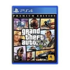 Imagem de Game Grand Theft Auto V (GTA 5) Premium Edition - PS4