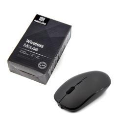 Imagem de Maikou 2.4G Mouse óptico sem fio recarregável para computador aquecedor de mouse