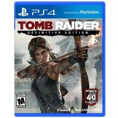 Jogo Tomb Raider Definitive Edition PS4 Square Enix