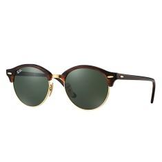 Óculos de Sol Feminino Redondo Ray Ban Clubround 4246