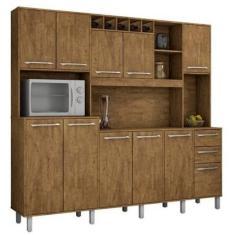 Imagem de Cozinha Compacta 2 Gavetas 11 Portas Petra Valde Móveis