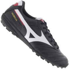 Chuteira Society Mizuno Morelia Elite AS II TF Adulto