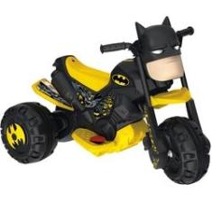 Imagem de Moto Elétrica - Batmoto 6V - DC Comics - Batman - Bandeirante