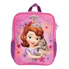 Mochila Escolar DMW Princesinha Sofia The First Pink G 49089