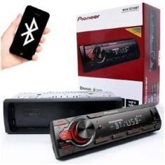 Imagem de Rádio Auto Player Pioneer Mvh-S218bt Mp3 Usb Bluetooth AX Frontal 23Wx4