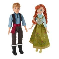 Imagem de Boneca Frozen Anna e Kristoff B5168 Hasbro