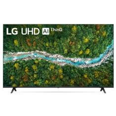 """Smart TV LED 55"""" LG ThinQ AI 4K 55UP7750PSB 3 HDMI"""