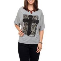 Imagem de Camiseta Mr. Kitsch Cruz Estampada