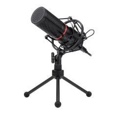 Imagem de Microfone Gamer Profissional Redragon Blazar Conector Padrão USB Com Tripé e Pop Filter - GM300