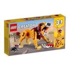 Imagem de LEGO Creator 3 Em 1 - 31112 - Leão Selvagem