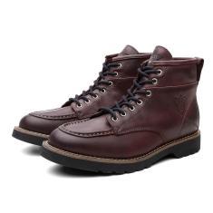 Imagem de Bota Coturno Masculino Moscou Couro Cano Medio Black Boots
