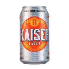 Imagem de Cerveja Kaiser Pilsen Lata 350ml (fardo Com 12 Unidades)
