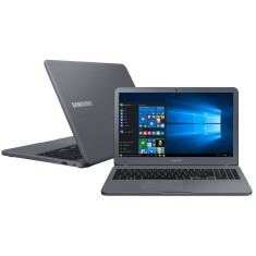 "Notebook Samsung Expert Intel Core i7 8550U 8ª Geração 12GB de RAM HD 1 TB 15,6"" GeForce MX110 Windows 10 X55"
