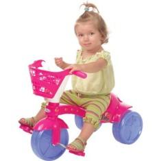 Imagem de Triciclo com Pedal Xalingo Fofete com Cestinha
