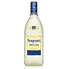 Imagem de Gin Seagrams 750ml Nova Embalgem