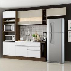 Imagem de Cozinha Completa 2 Gavetas 7 Portas sem Tampo Safira Madesa