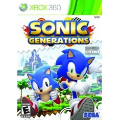 Imagem de Jogo Sonic Generations Xbox 360 Sega