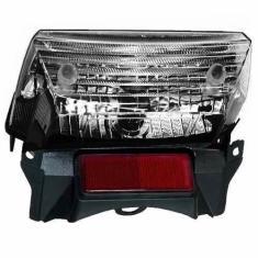Imagem de Lanterna traseira - YBR- 125 factor metalizada- fume