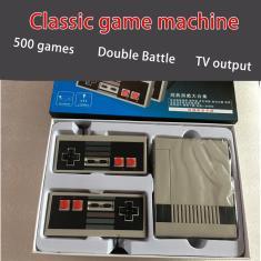 Imagem de Mini TV Handheld Game Console Console de videogame para jogos Nes com 500 diferentes jogos embutidos pal & ntsc