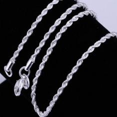 Imagem de Colar de jias Moda Exquisite prata esterlina 925 tran? Ado Rope Chain Link fecho da lagosta