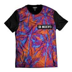 Imagem de Camiseta Laranja e  Palmeiras Havaianas Di Nuevo
