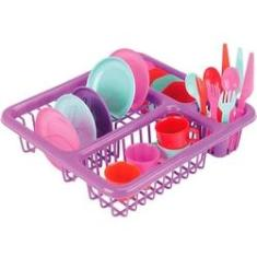 Imagem de Brinquedo Cozinha Infantil Escorredor De Loucinha Homeplay