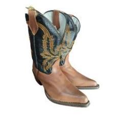 Imagem de Bota Texana Bico Fino - Texas Country; TAMANHO:37