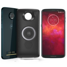 Smartphone Motorola Moto Z Z3 Play Stereo Speaker Edition XT1929-5 64GB Android