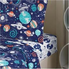 Imagem de Jogo de Cama Teka Solteiro 2 peças 120 Fios Teka Kids Space