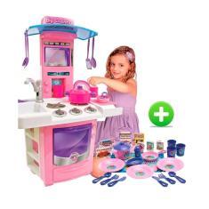 Imagem de Cozinha Big Star Infantil Pia Sai Água Completa