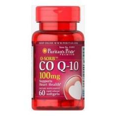 Imagem de Coenzima Coq10 100mg 60 Capsulas Q10 Puritans Pride - Importado & Original - Reduz a ansiedade e pressão arterial