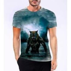 Imagem de Camiseta Camisa Lobisomem Licantropo Homem Lobo Mitologia 3