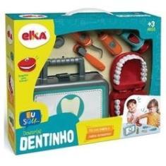 Imagem de Kit Maleta Dentista Dr. Dentinho Brinquedo Divertido Elka