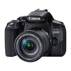 Imagem de Câmera Fotográfica EOS 850D e Lente 18-55mm -Canon