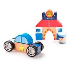 Imagem de Brinquedo Educativo Construindo Bloquinhos Policia Estrela