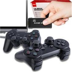 Imagem de Console Retro Mini Game Stick 4k 2 Controles Sem Fio
