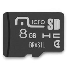 Cartão de Memória Micro SDHC Multilaser 8 GB MC141