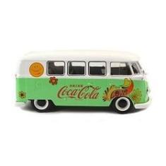 Imagem de Miniatura Volkswagen Kombi 1959 Coca-cola Flores M478064