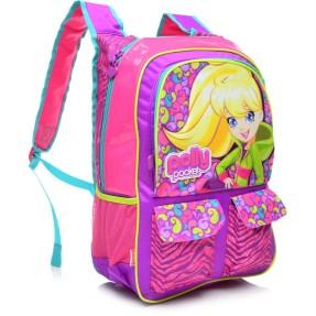 Mochila Escolar Sestini Polly Pocket 13 Litros Polly 62954