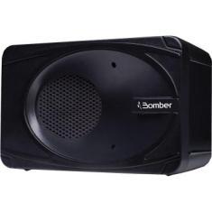Caixa de Som Portátil Bluetooth Bomber 5WRMS MyBomber Preta