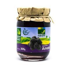 Imagem de Geleia de Amora 100% Fruta Orgânico Sem Adição de Açúcar Coopernatural 180g
