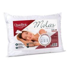 Imagem de Travesseiro Duoflex Molas Cervical 50cm X 70cm Ortopédico