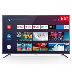 "Smart TV LED 65"" TCL 4K HDR 65P8M 3 HDMI"