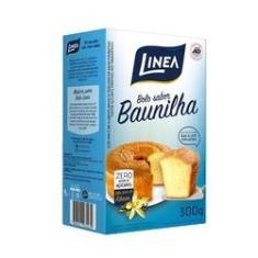 Mistura para Bolo Sabor Baunilha Zero Açúcar Linea 300g