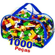 Imagem de Blocos De Montar 1000 Peças- Melhor Preço do Mercado