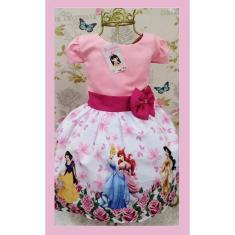 Imagem de Vestido Infantil tema Princesas